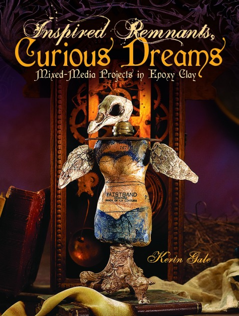 altered art, epoxy clay, apoxie sculpt, new book, mixed media, victorian gothic, curious